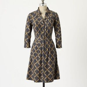 Anthropologie Meave Shirt Dress Whitwick manor